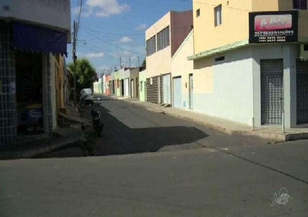 Local onde a grávida foi abordada pelos adolescentes (Crédito: TV Verdes Mares)