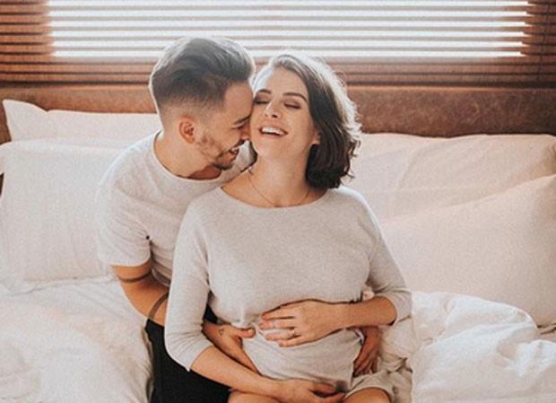 Junior Lima e esposa Monica Benini