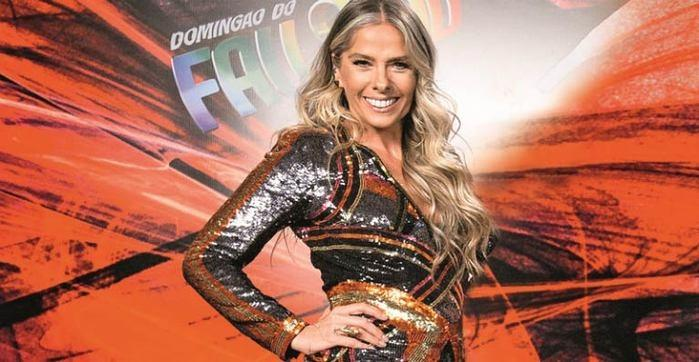 Adriane Galisteu é uma das participantes do 'Dança dos Famosos'