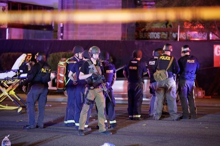 Massacre matou 59 pessoas em Las Vegas  (Crédito: AP)