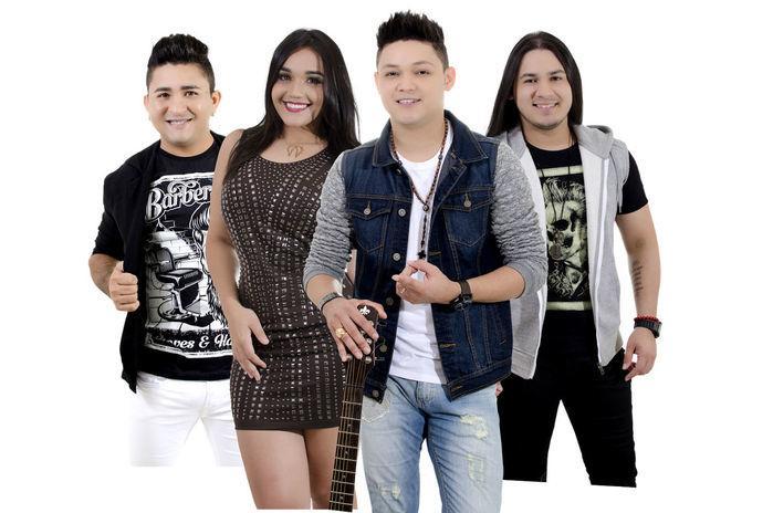 Vocalistas da banda Bonde do Brasil (Crédito: Divulgação)