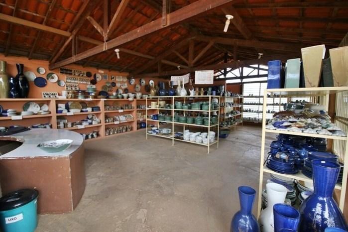 Peças de cerâmica (Crédito: Meuterroir)