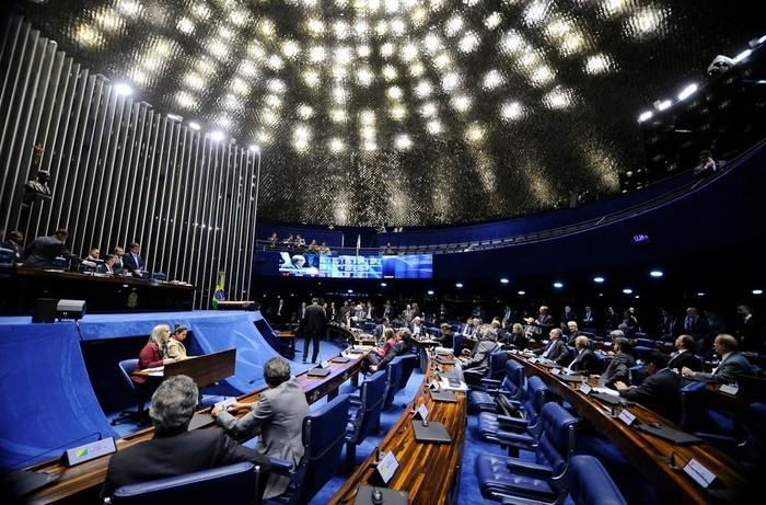 Senadores discutem afastamento de Aécio  (Crédito: Agência Senado )