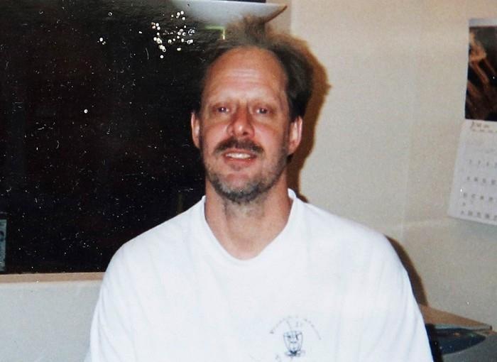 Stephen Paddock, o atirador do ataque em Las Vegas, em foto não datada do arquivo de seu irmão, Eric (Crédito: Arquivo pessoal/Eric Paddock via AP)