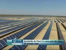 Semiárido se torna polo de produção de energia solar para 8 cidades