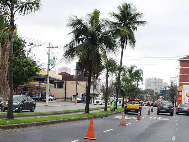 Local onde ocorreu o acidente (Crédito: Rodrigo Nardelli/G1)