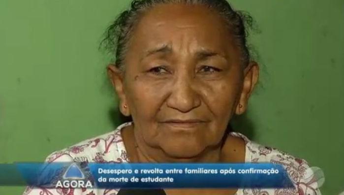 Cecília Abreu, mãe da vítima  (Crédito: Reprodução )