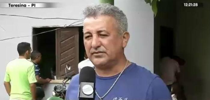 Jean Carlos, pai da estudante de direito Camila A (Crédito: Rede Meio Norte)