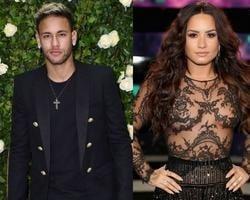 "Neymar faz tatuagem igual de Demi Lovato e fãs vibram: ""Shippo"""