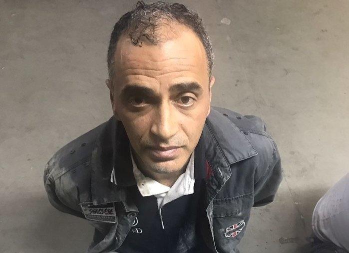 Marcos Paulo Chini foi preso em Teresina em novembro de 2015 (Crédito: Polícia Civil)