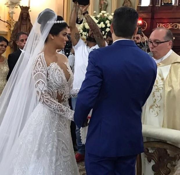 Munik Nunes se casa com direito a festa luxuosa em Fortaleza (Crédito: Reprodução)