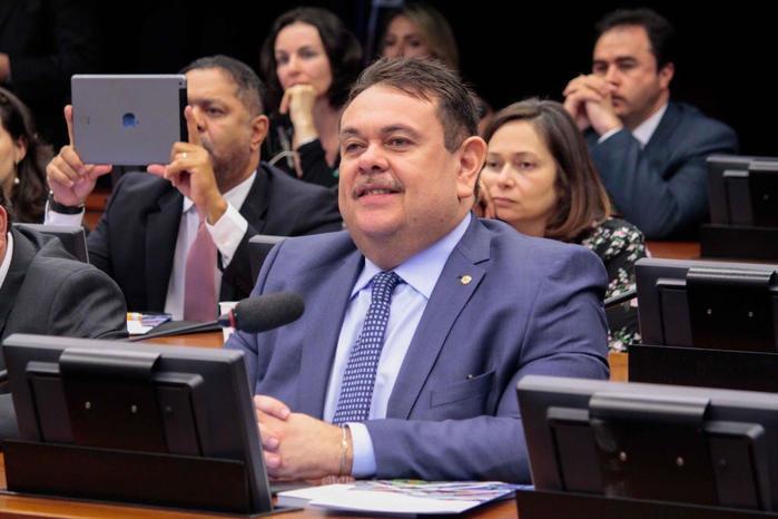 Deputado federal Silas Freire (Crédito: Reprodução)