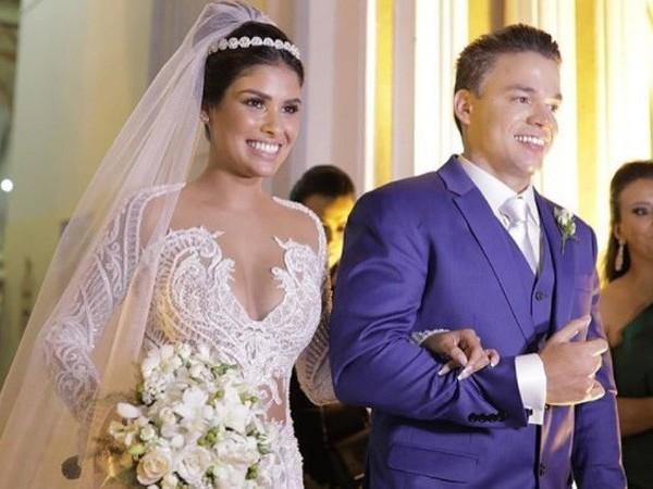 Munik Nunes se casa com direito a festa luxuosa em Fortaleza