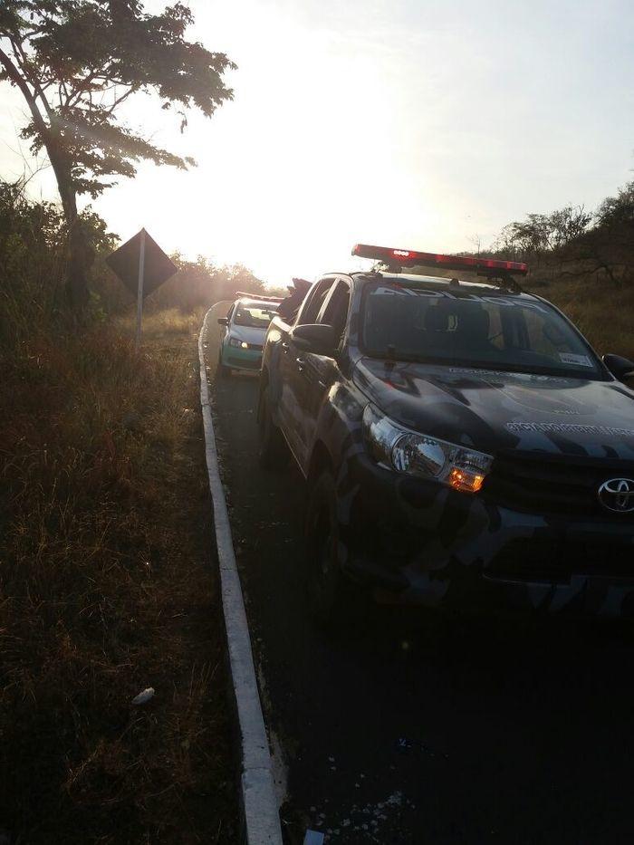 Polícia foi mobilizada para o local (Crédito: Portal Altos)