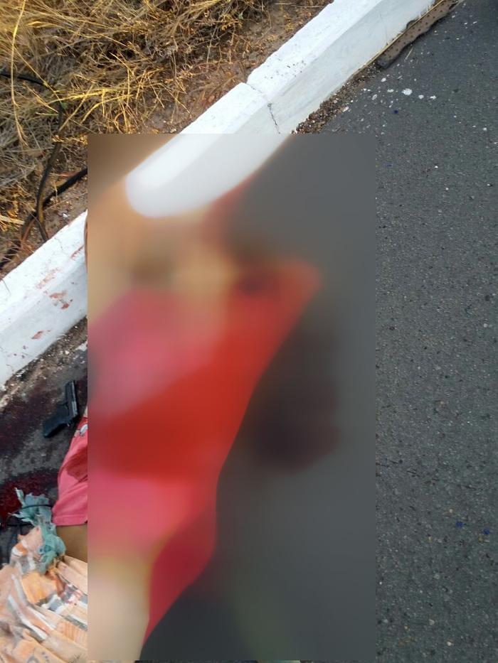 Acusado morreu após troca de tiros (Crédito: Portal Altos)