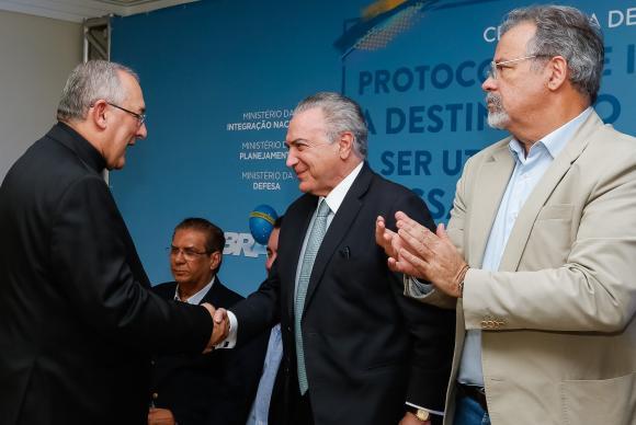 Presidente Michel Temer (Crédito: Marcos Corrêa/PR)