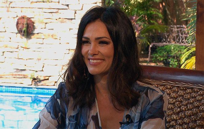 Suzana Alves concedeu entrevista para Gugu