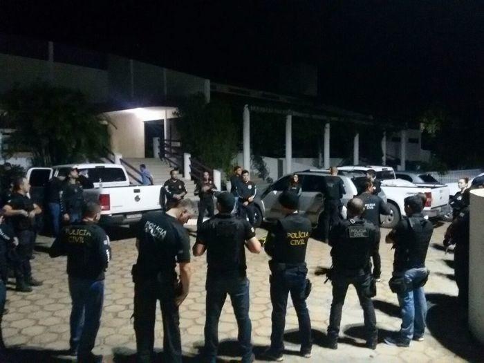 Operação Chapadinha deflagrada pela polícia (Crédito: Polícia Civil)
