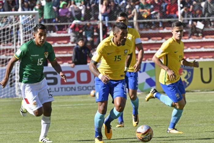 Brasil empatou por 0 a 0 com a Bolívia (Crédito: AFP)