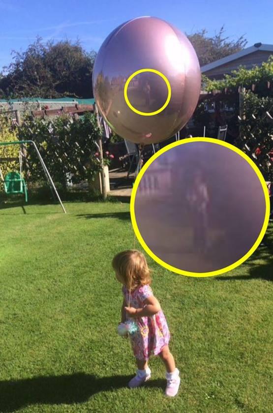 Imagem aparece em balão de criança e deixa mãe assustada