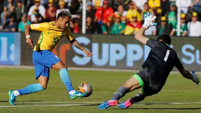 Brasil empatou por 0 a 0 com a Bolívia