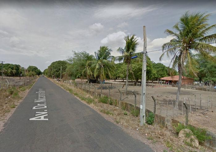 Acidente aconteceu na avenida Nicanor Barreto (Crédito: Reprodução)