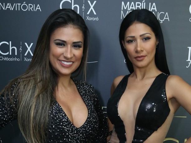 Simone e Simaria cantam com dupla Chitãozinho e Xororó em DVD