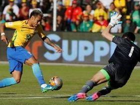 Brasil para no goleiro Lampe e termina no 0 a 0 com a Bolívia
