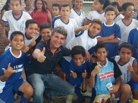 Prefeito João Luiz faz abertura dos VIII Jogos Escolares