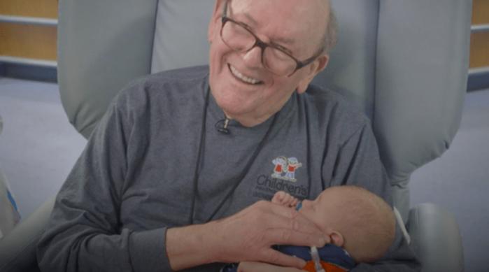Vovô UTI é bastante conhecido no hospital