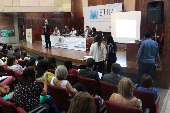I Seminário Estadual Integrado de Saúde Mental e Justiça Criminal (Crédito: Fernando Castelo Branco/TJ-PI)