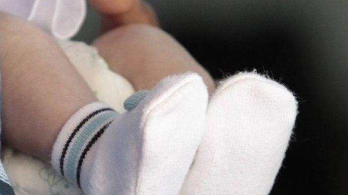 Bebê de 4 meses diagnosticada com DST