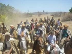 Comunidade Riacho em Jatobá do Piauí comemora festa dos vaqueiros