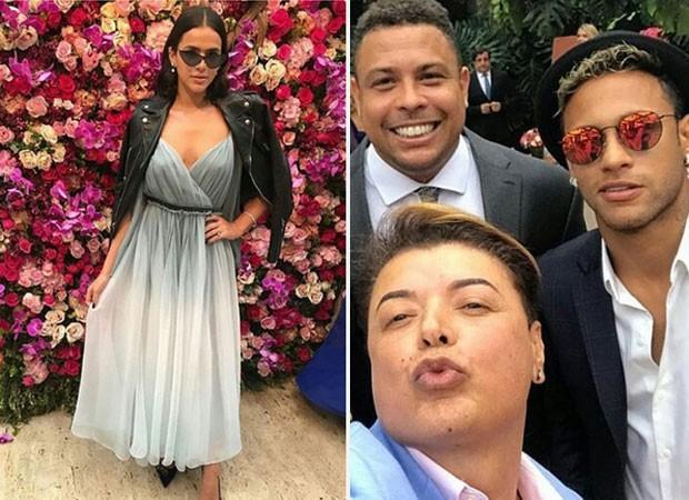 Neymar e Bruna Marquezine vão ao casamento de Marina Ruy Barbosa e Xandinho Negrão