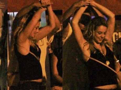 Juliana Paes e Paolla se jogam em festa regada a cerveja e forró
