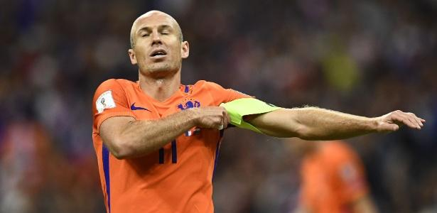 Arjen Robben (Crédito: AFP)