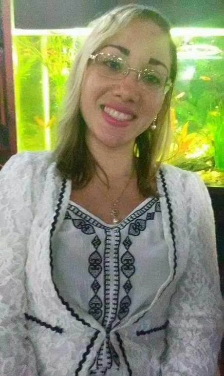 A enfermeira Ângela Cunha, morta numa tentativa de assalto (Crédito: Reprodução)