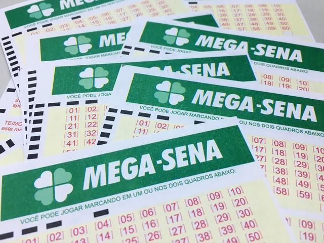 Aposta única levou prêmio da Mega-Sena de mais de R$ 22 milhões (Crédito: Heloise Hamada/G1)