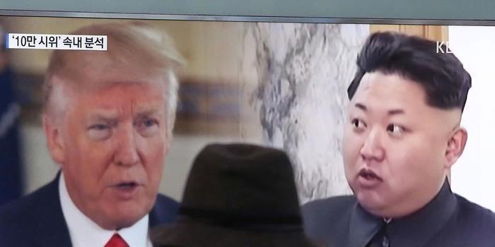 """""""Apenas uma coisa vai funcionar"""", diz Trump sobre Coreia do Norte"""