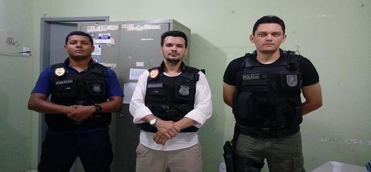 Polícia de Pio IX prende estelionatário na cidade de Oeiras