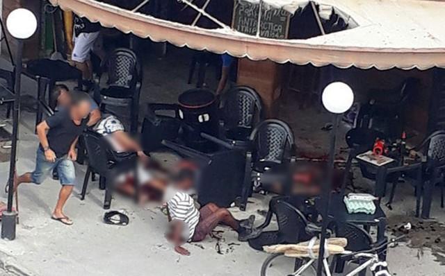 Ataque a tiros a bar deixa seis morto e vários feridos no RJ (Crédito: Reprodução/G1)
