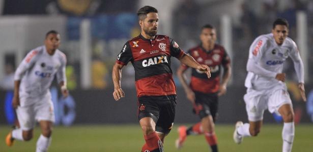 Diego vive má fase no Flamengo (Crédito: Mowa Press)
