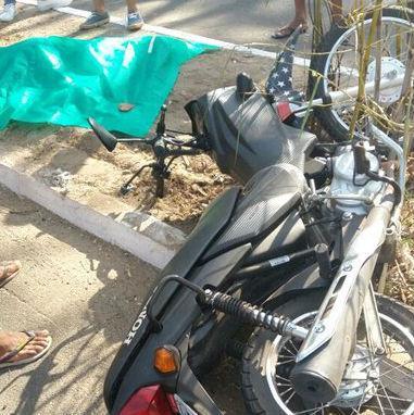 Veículo envolvido no acidente na avenida Maranhão (Crédito: Polícia Militar)
