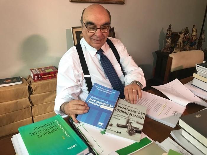 O deputado Bonifácio de Andrada, relator da denúncia contra Temer (Crédito: Laio Seixas/G1)