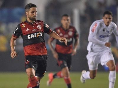Santos monitora situação de Diego para reeditar dupla com Robinho