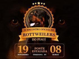 Vem aí o 4º Encontro Oficial de Rottweilers do Piauí
