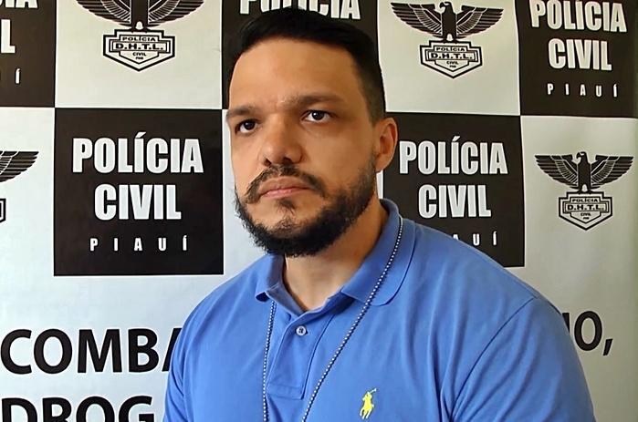 Delegado de Polícia Civil. Eduardo Aquino. (Crédito: Kairo Amaral )