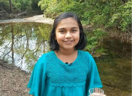 menina de 11 anos vence prêmio