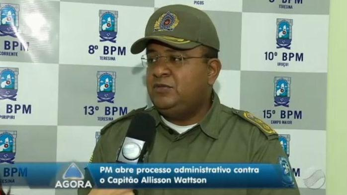 Tenente-coronel John Feitosa (Crédito: Rede Meio Norte)