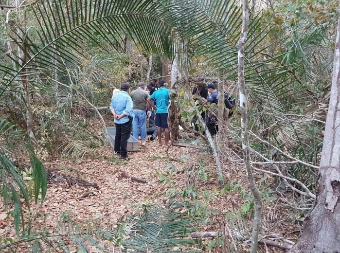 Local onde o corpo foi encontrado (Crédito: Reprodução)